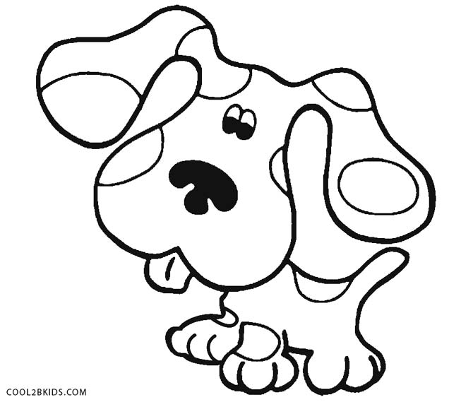 blues clues coloring page - Blues Clues Coloring Pages