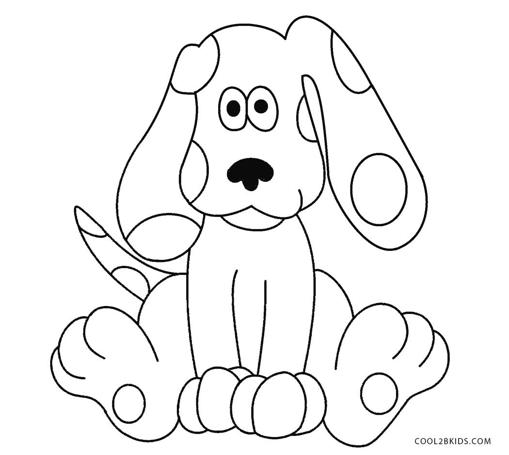 free blues clue coloring pages - photo#13