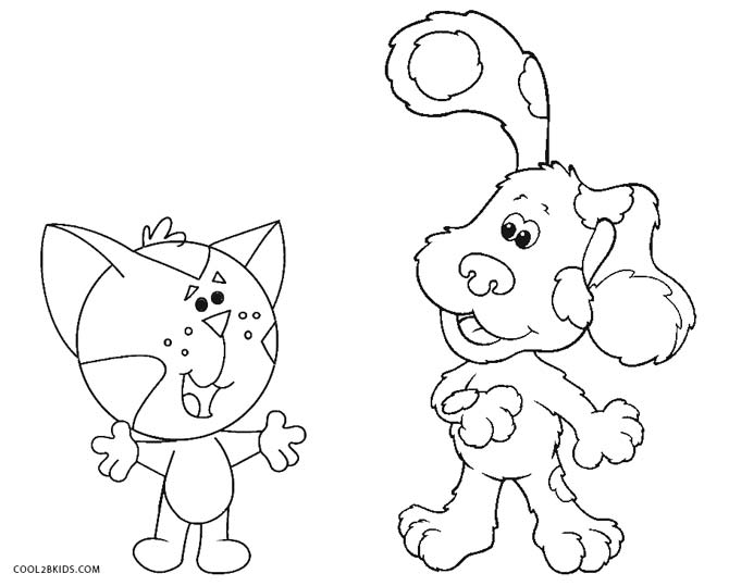 blues clues periwinkle coloring pages - Blues Clues Coloring Pages