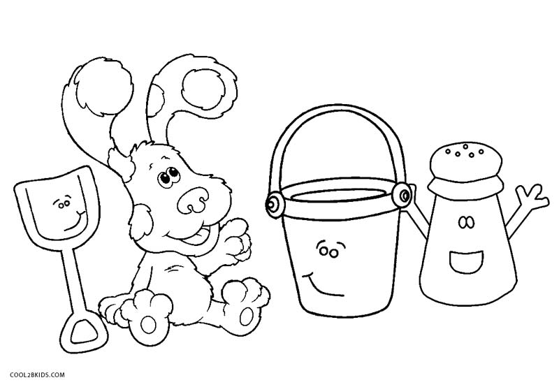 Free Printable Blues Clues Coloring Pages For Kids | Crayola ... | 554x800