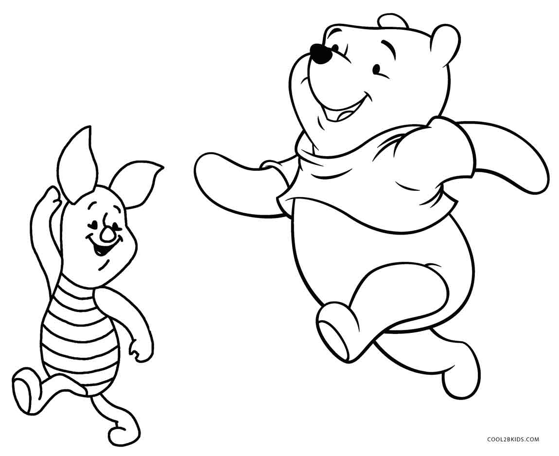 Winnie The Pooh Baby Coloring Pages - Coloring Home | 937x1150