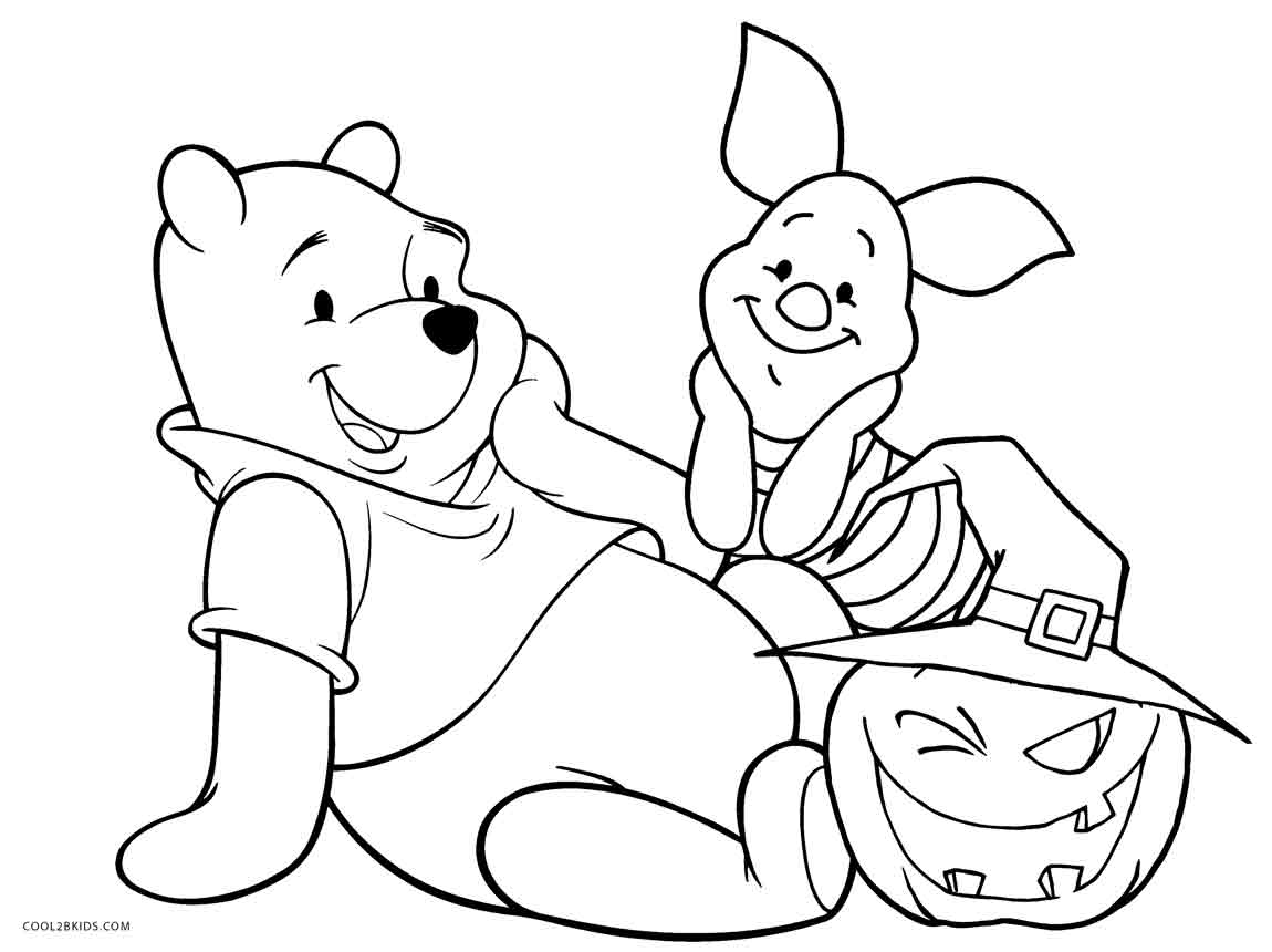 printable winnie pooh coloring pages - photo#24