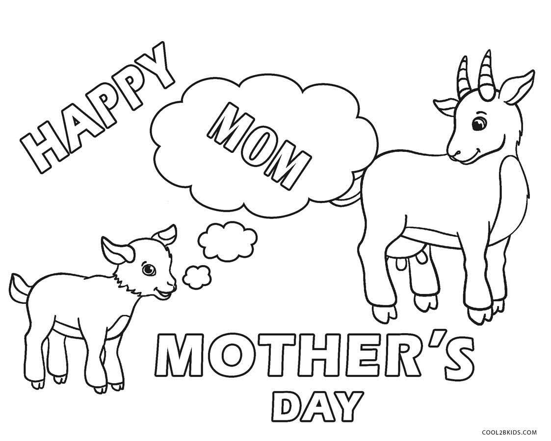 Coloring Pages Mothers Day : Free printable mothers day coloring pages for kids