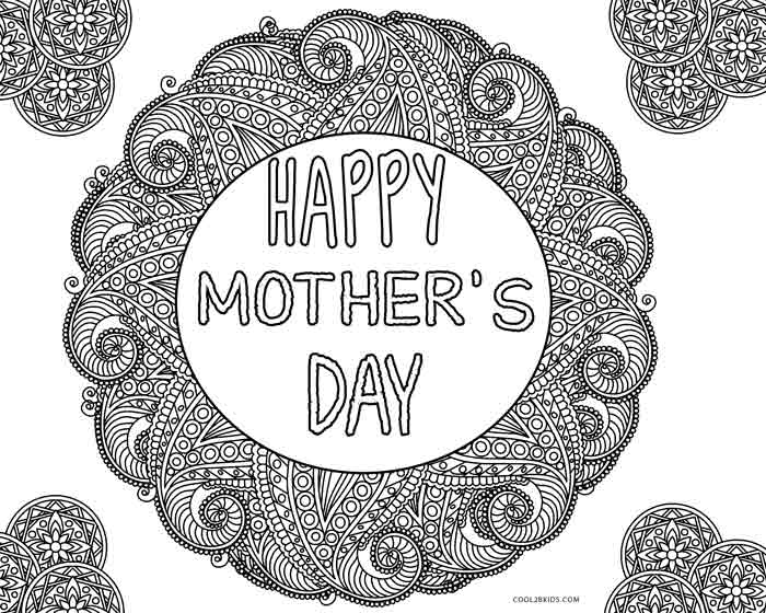 Free Printable Mothers Day Coloring Pages For Kids | Cool2bKids