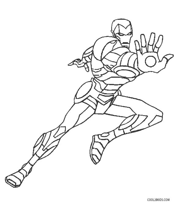 iron man coloring pages to print