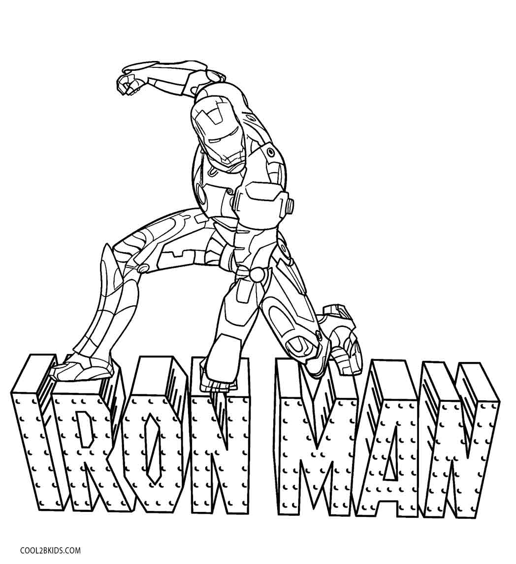 iron man coloring pages - Book Coloring Pages