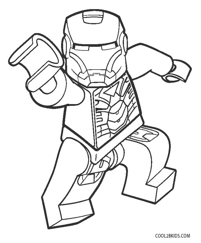 Iron Man Head Iron Man Coloring Pages