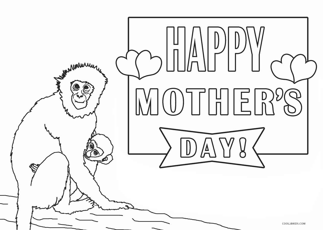 Coloring Pages: Free Printable Mothers Day Coloring Pages For Kids