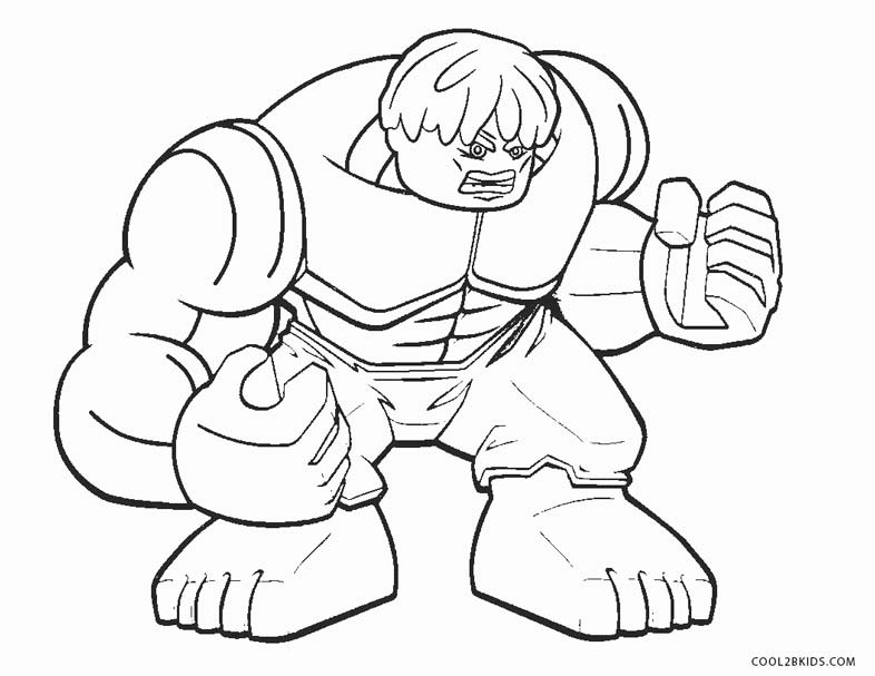 coloring pages incredible hulk - photo#19