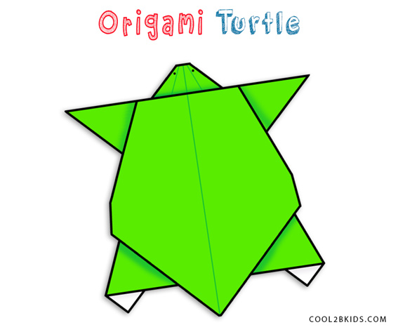 How to make Origami Turtle Robert J Lang  YouTube