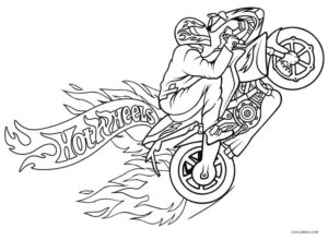 motorbike coloring pages | Free Printable Motorcycle Coloring Pages For Kids | Cool2bKids