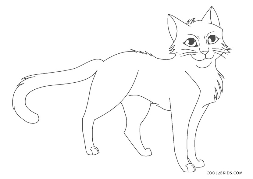 cat pages for coloring - photo#38