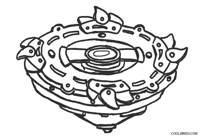 beyblade coloring page for kids - Beyblade Coloring Pages