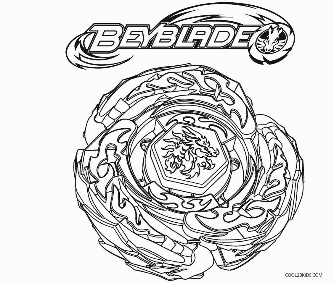 beyblade coloring page - Beyblade Coloring Pages