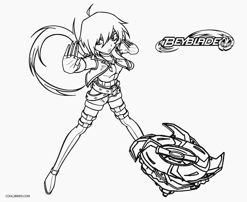 Free Printable Beyblade Coloring Pages For Kids | Cool2bKids