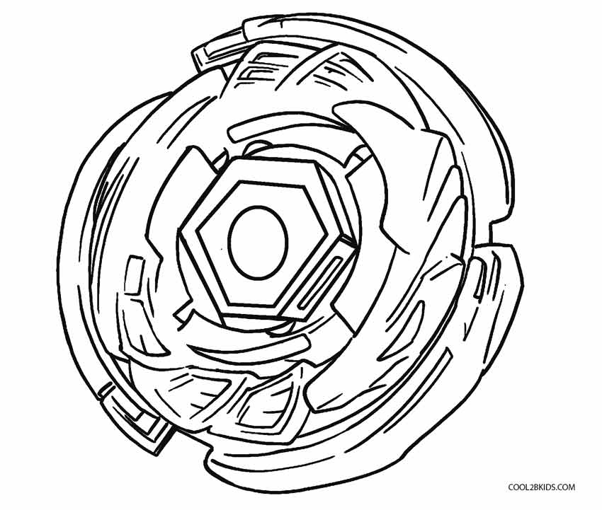 beyblade coloring pages to print - Beyblade Coloring Pages