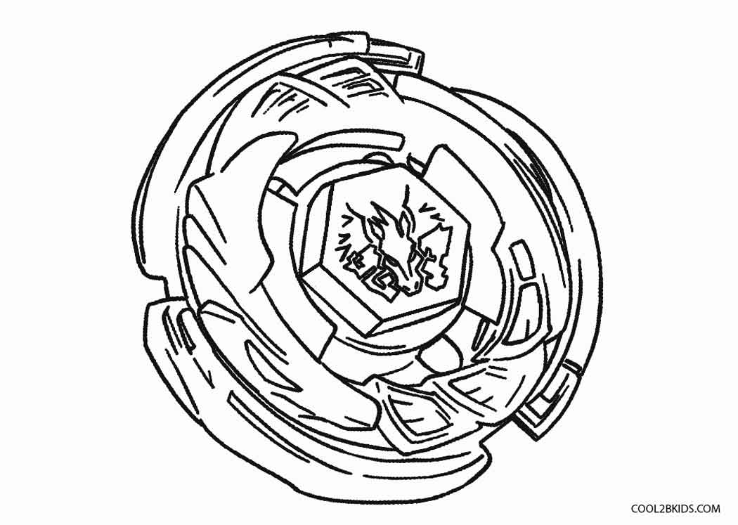 beyblade pegasus coloring pages - Beyblade Coloring Pages