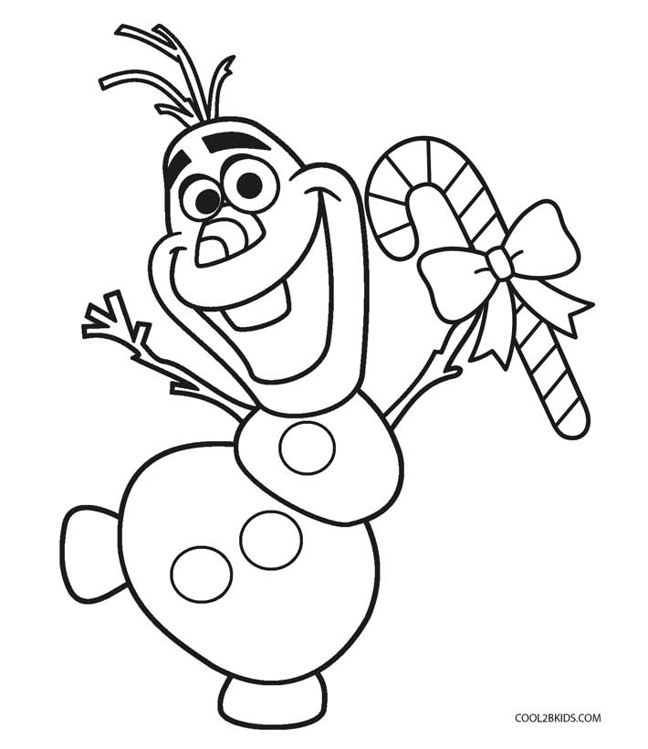 Perfect Candy Cane Coloring Pages For Kids