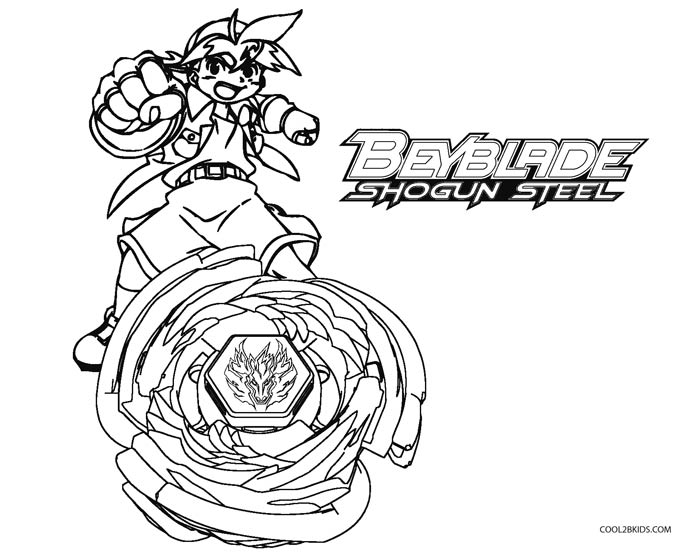 free beyblade coloring pages - Beyblade Coloring Pages