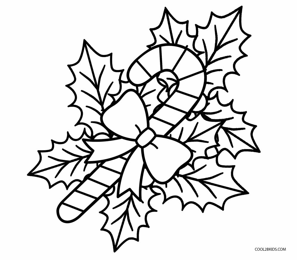 Coloring Page: Free Printable Candy Cane Coloring Pages For Kids