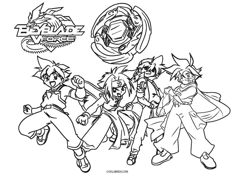 printable beyblade coloring pages - Beyblade Coloring Pages