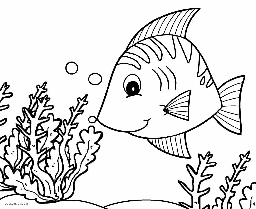 free coloring pages fish - photo#21