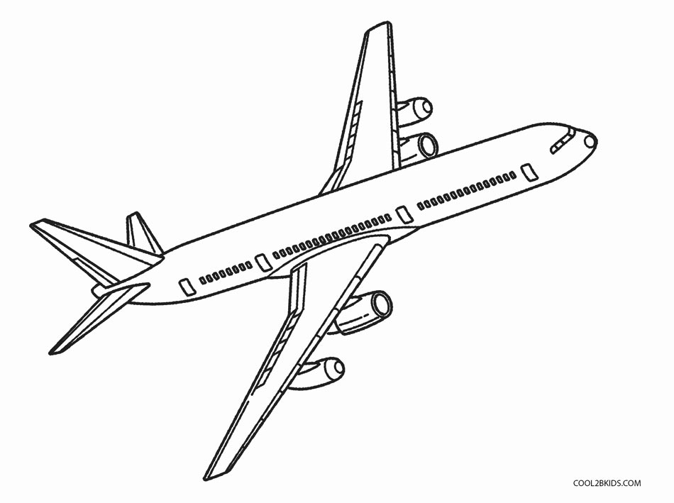 coloring pages of planes - photo#29