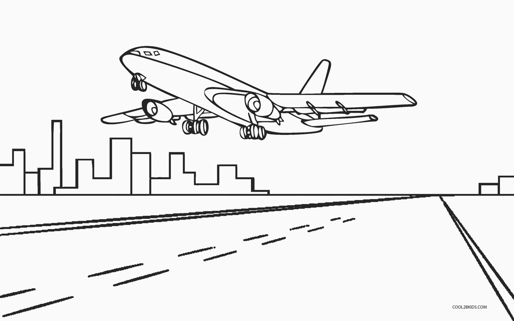 bi plane coloring pages - photo#30