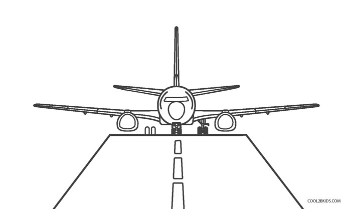 airplane coloring pages printable - Airplane Coloring Pages Printable
