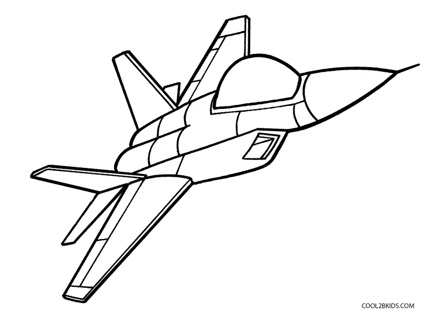 bi plane coloring pages - photo#23