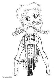 Free Printable Betty Boop Coloring Pages For Kids Cool2bkids