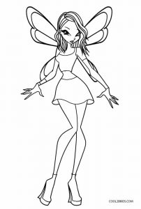 magic winx coloring pages | Free Printable Winx Coloring Pages For Kids | Cool2bKids