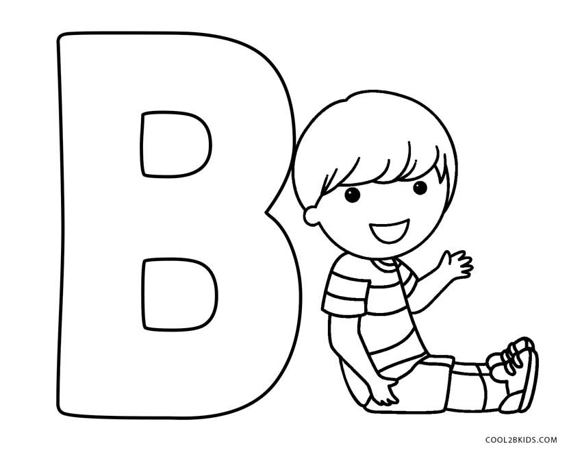 Free Printable Abc Coloring Pages