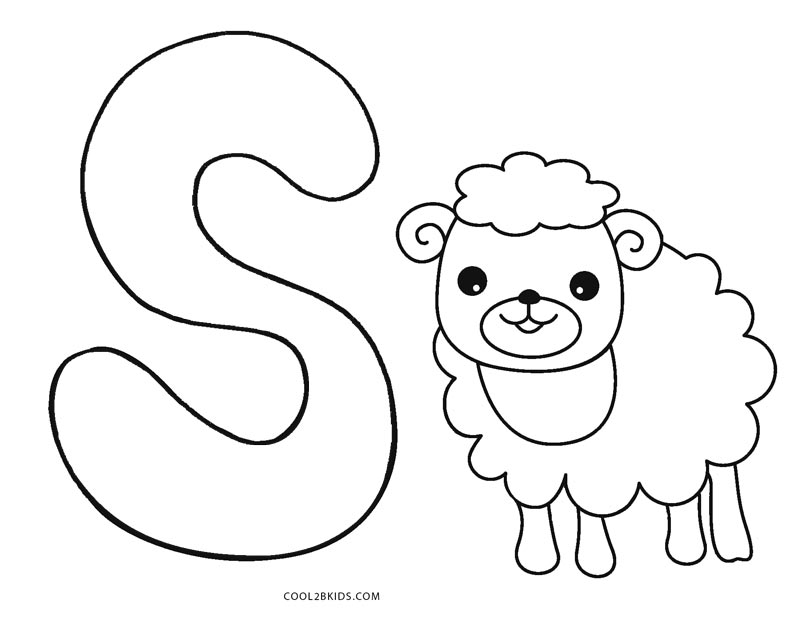 Free Printable Abc Coloring Pages For Kids | Cool2bKids