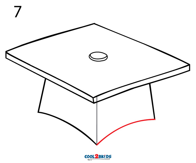 How to Draw a Graduation Cap (Step by Step Pictures ...