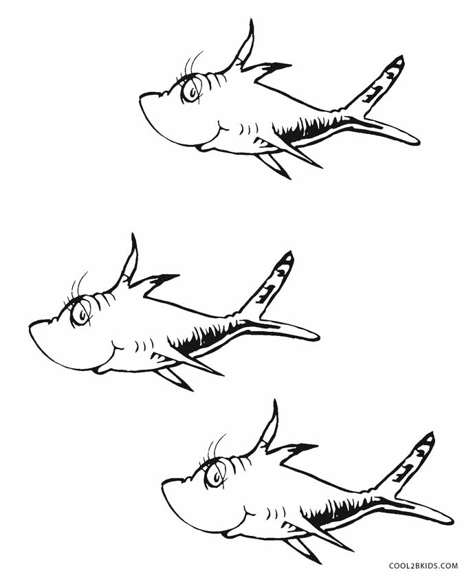 image relating to Dr.seuss Fish Printable identified as Absolutely free Printable Dr Seuss Coloring Webpages For Children Awesome2bKids