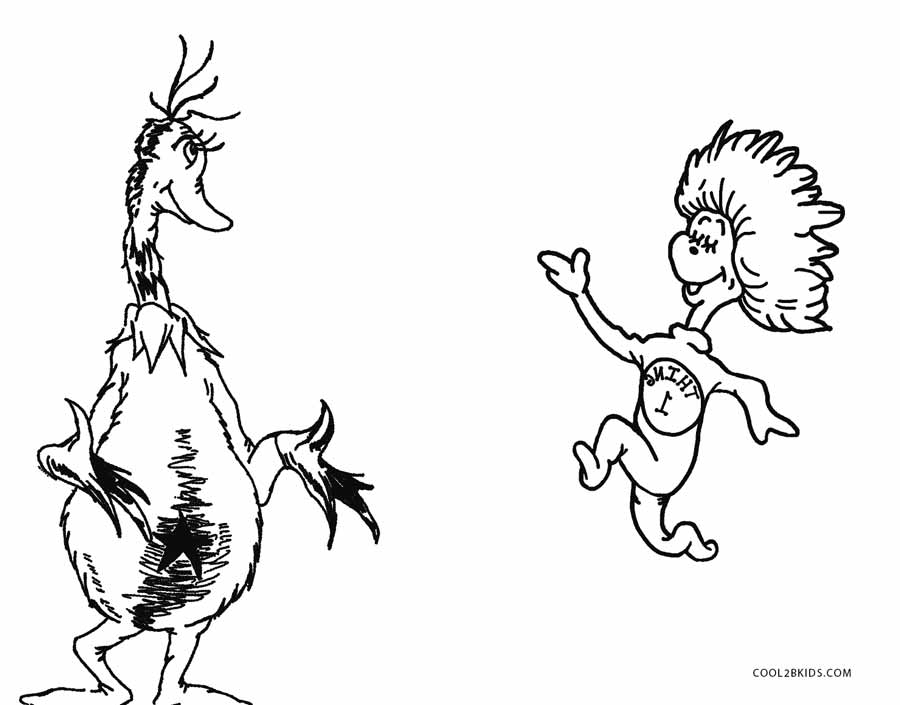 Free Printable Dr Seuss Coloring Pages For Kids | Cool2bKids