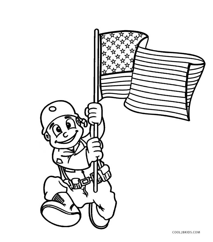 Free Printable Veterans Day Coloring Pages For Kids | Cool2bKids