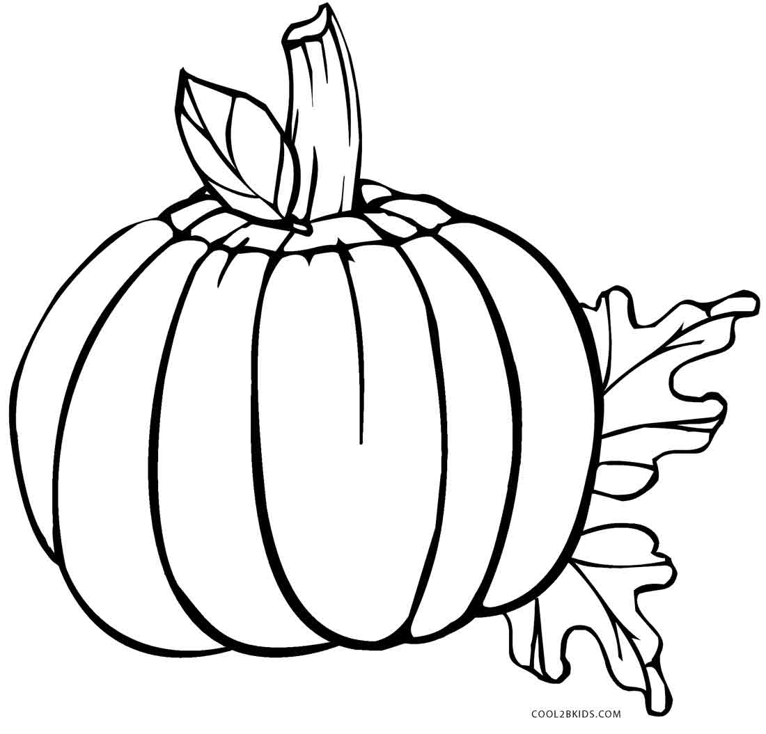 Simplicity image regarding pumpkin coloring pages printable