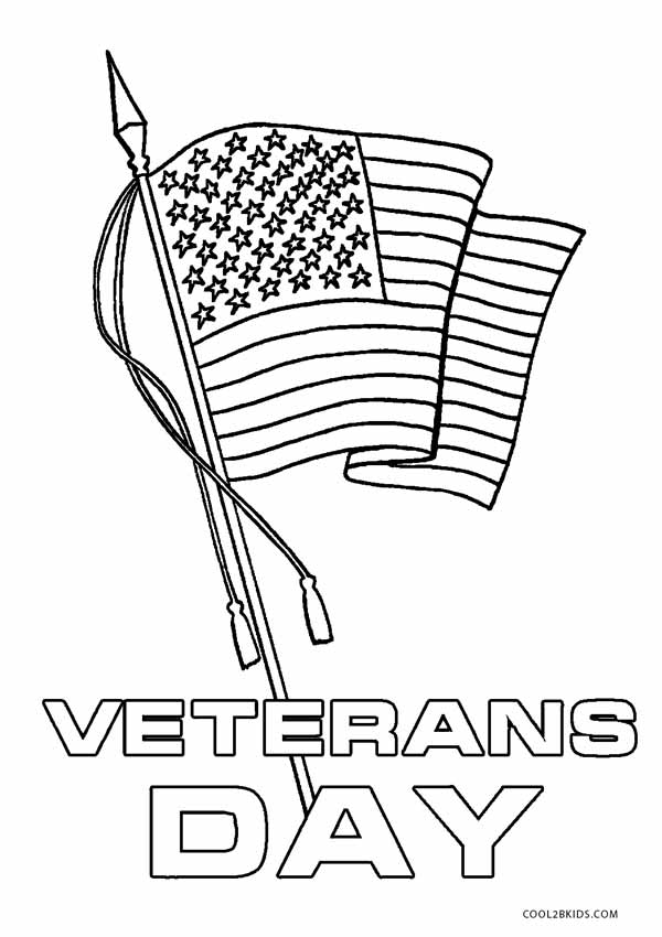 Printable Veterans Day Coloring Pages