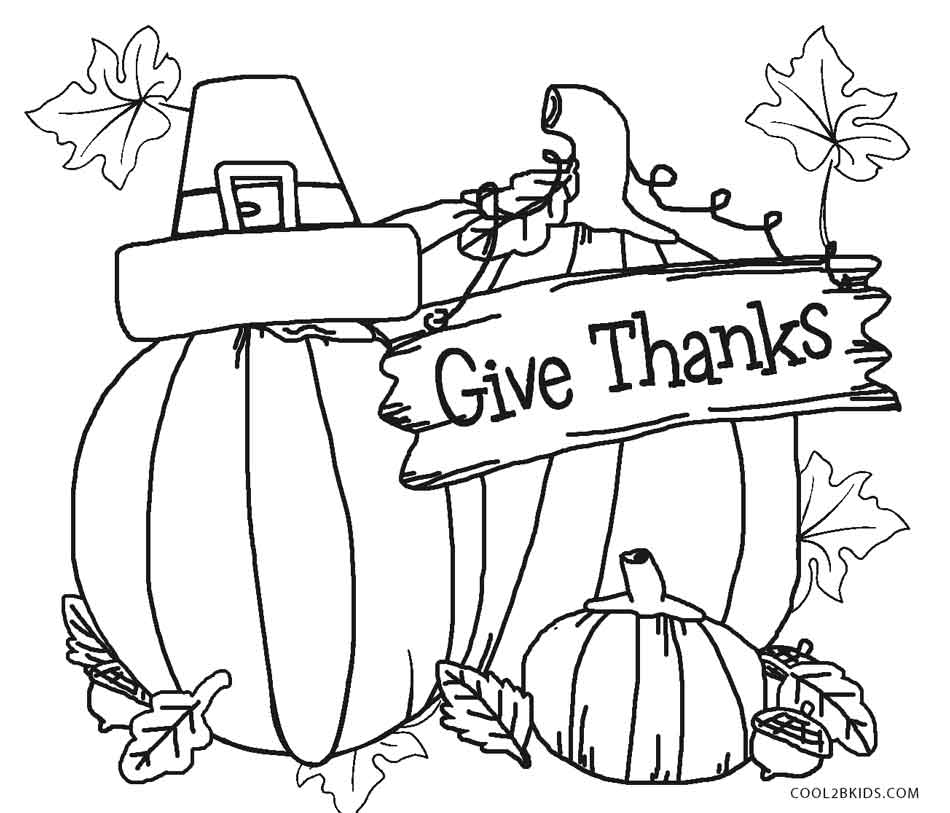 Give Thanks To Coloring Pages