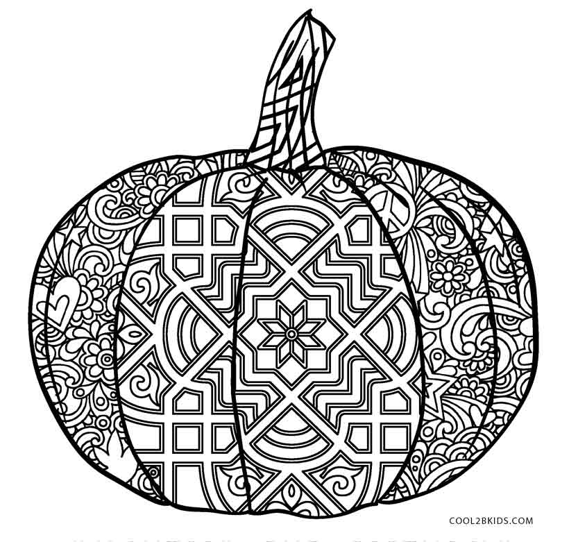 Free printable pumpkin coloring pages for kids cool2bkids for Pumpkin coloring pages for adults