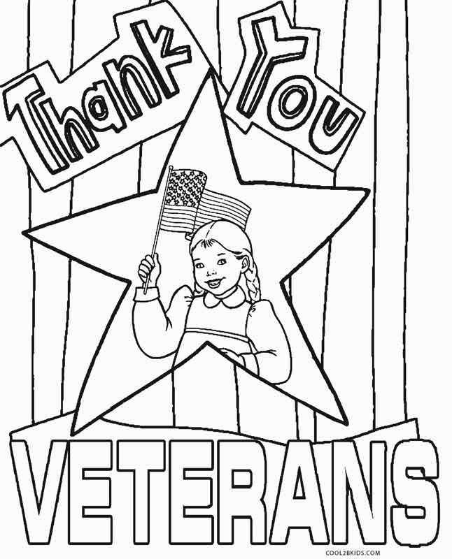 Free printable veterans day coloring pages for kids for Coloring pages veterans day