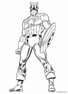 Captain america winter soldier coloring pages ~ Free Printable Captain America Coloring Pages For Kids ...