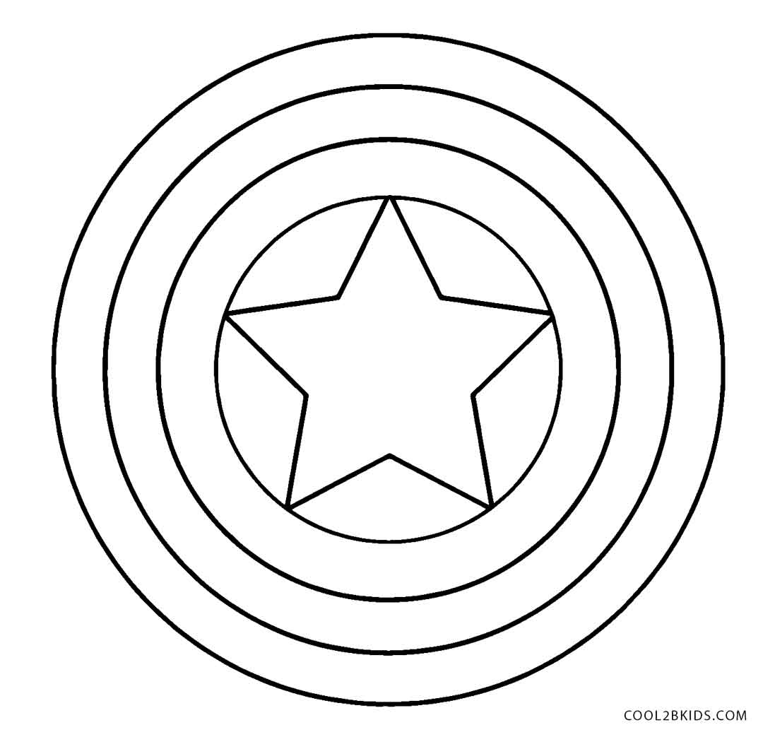 captain america shield coloring page free printable captain america coloring pages for kids