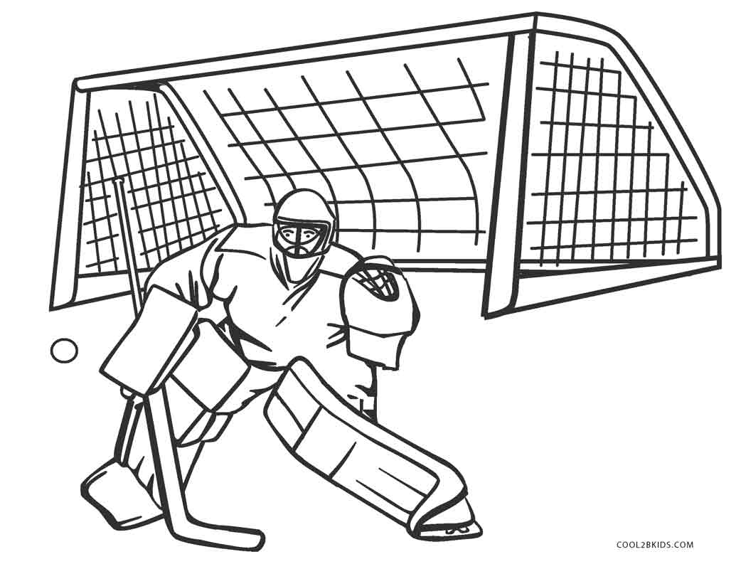 nhl printable coloring pages - photo#23