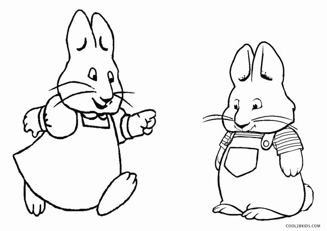Free Printable Max and Ruby Coloring Pages For Kids | Cool2bKids