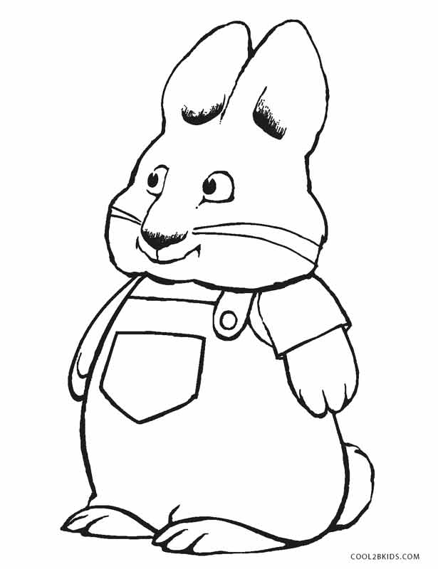 Free Printable Max And Ruby Coloring Pages For Kids Cool2bkids