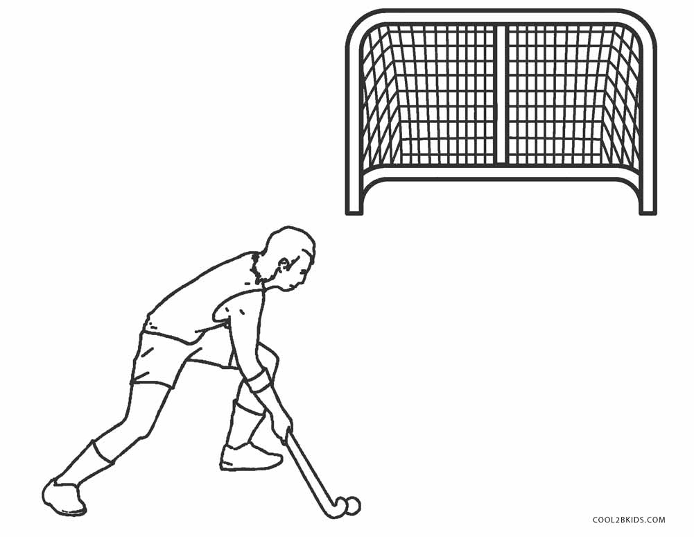 Free printable hockey coloring pages for kids cool2bkids for Ice hockey coloring pages