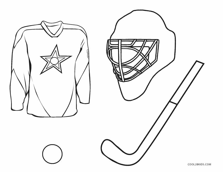 nhl printable coloring pages - photo#9